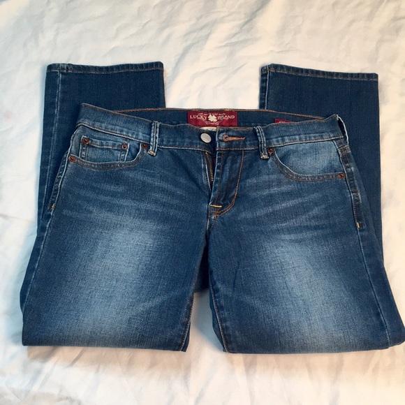 Lucky Brand Denim - Lucky Brand Sweet n Crop Jeans